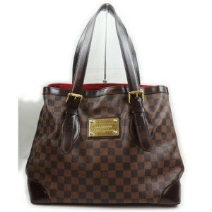 💯Authentic Louis Vuitton Hampstead MM Damier